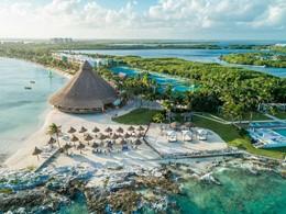 Vue du Club Med Yucatan, le premier club sur la Riviera Maya