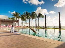 Profitez de la belle piscine du Club Med Yucatan