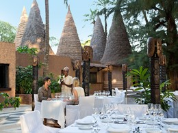 Le restaurant Diola du Club Med Cap Skirring au Sénégal