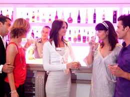 Le bar Falesia du Club Med Da Balaia au Portugal