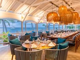 Spécialités créoles au restaurant Allamanda Beach Lounge