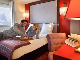 Chambre Deluxe du Club Med La Plagne 2100