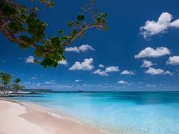 La superbe plage du Club Med Les Boucanniers
