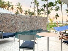 La belle piscine de l'une des Suites