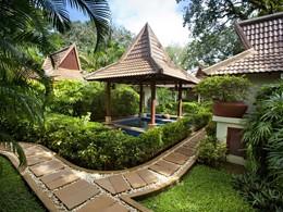 Le bain à remous du spa du Club Med Phuket