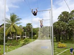 L'école de trapèze du Club Med Phuket en Thailande