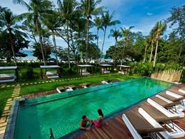 La superbe piscine du Club Med Phuket en Thailande