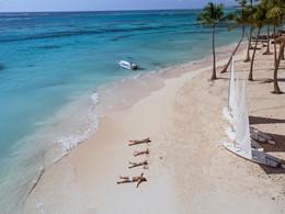 La magnifique plage privée du Club Med Punta Cana