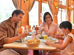 Le restaurant Le Vauban du Club Med Serre-Chevalier