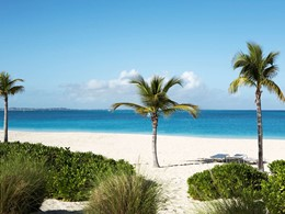 La superbe plage de Grace Bay