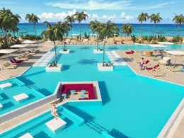 La piscine du Club Med Turquoise à Turks and Caicos