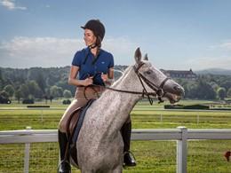 Balade à dos de cheval au Club Med Vittel Ermitage