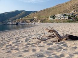 La superbe plage de Vagia