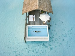 One Bedroom Water Villa with Pool