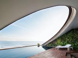 La belle piscine du COMO Penthouse