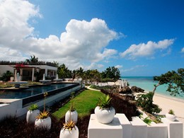 Vue du Constance Aiyana, un boutique-hôtel paisible à Zanzibar