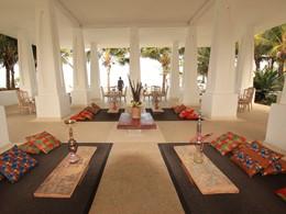 Le Shisha Lounge du Constance Aiyana à Zanzibar