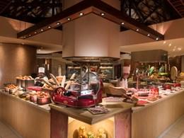 Repas sous forme de buffet au restaurant Corossol