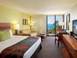 Guest Room King Oceanfront du King Kamehameha's Kona