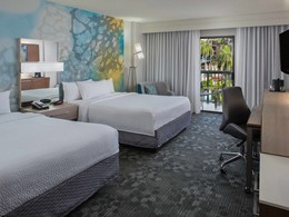 Queen Guest Room du Courtyard Orlando Lake Buena Vista