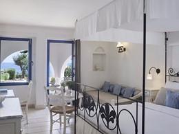 Double Deluxe Sea Front de l'hôtel Creta Maris