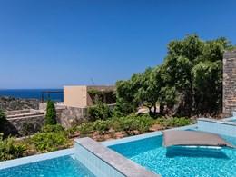 La piscine de la Deluxe Junior Suite with Individual Pool