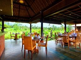 Le restaurant Padi de l'hôtel De Klumpu, à Bali