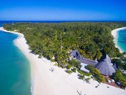 Séjournez dans l'unique hôtel de cette île corallienne