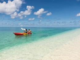 Activité nautique du Denis Private Island aux Seychelles
