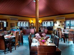 Le restaurant du Desert Night Camp au sultanat d'Oman