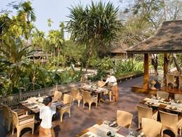 Restaurant Le Grand Lanna du Dhara Dhevi situé à Chiang Mai