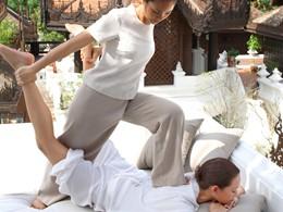 Massage Thai à l'hôtel Dhara Dhevi à Chiang Mai