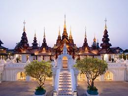 Le lobby du Dhara Dhevi à Chiang Mai