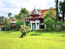 Villa de l'hôtel Dhara Dhevi à Chiang Mai