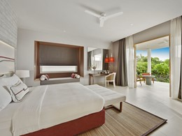 Beach Villa de l'hôtel Dhigali aux Maldives