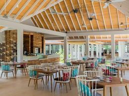 Le restaurant Jade du Dhigali aux Maldives