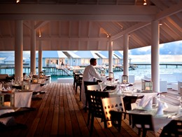 Restaurant Over The Water du Diamonds Thudufushi Beach and Water Villas