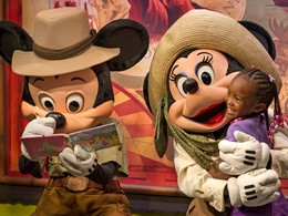 Les enfants vivront une expérience magique au Disney's Animal Kingdom.