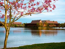 Vue du Disney's Polynesian Village Resort à Orlando
