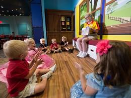 De nombreuses activités au kids club Lilo's Playhouse du Disney's Polynesian Village