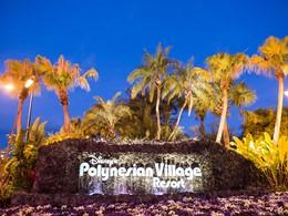 L'enseigne du Disney's Polynesian Village Resort à Orlando