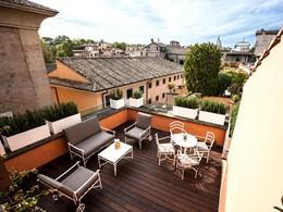 Profitez d'une magnifique vue sur Rome au DOM Hotel