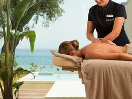 Somptueux soins au spa de l'hôtel Domes Miramare