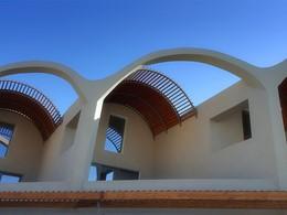 Architecture du Domes Noruz en Crête