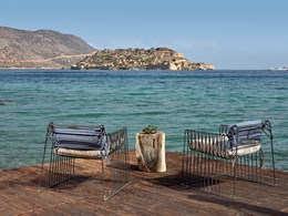 Vous pourrez admirer l'île de Spinalonga