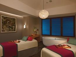 Le spa de l'hôtel Dreams Playa Mujeres au Mexique
