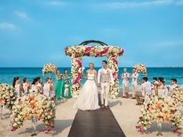 Echangez vos voeux dans un cadre idyllique au Dreams Playa Mujeres