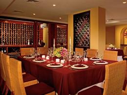 Cave à vin du restaurant Portofino