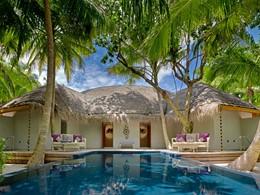 La piscine du Devarana Spa