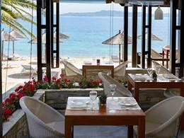 Le restaurant Armyra de l'Eagles Palace en Grèce